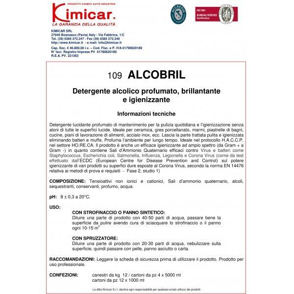 Desinfectant cu alchool - ALCOBRIL