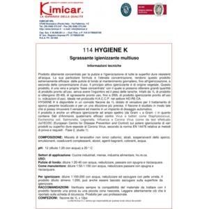 Dezinfectant superconcentrat HYGIENE