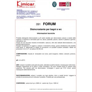 Desincrostant WC - FORUM