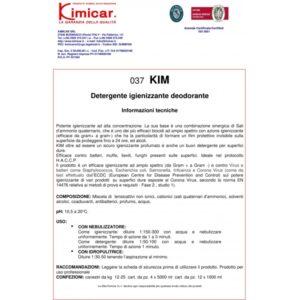 Desinfectant / actiune sterilizanta - KIM