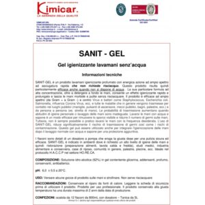 Gel dezinfectant maini SANIT GEL
