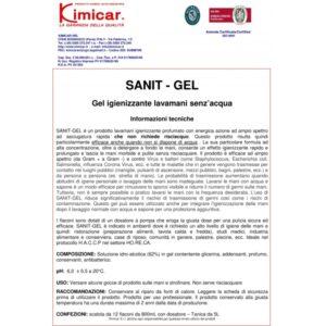 Igienizant antibacteric - SANIT GEL